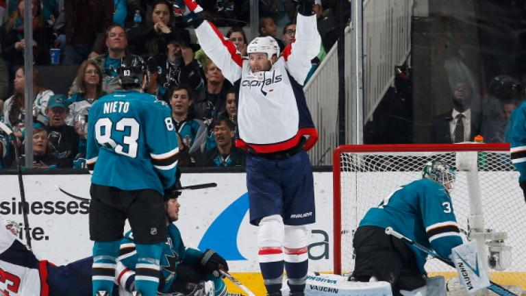 San Jose Sharks and Washington Capitals