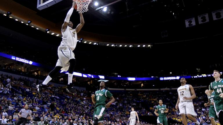 Second Round: (1) Wichita State 64, (16) Cal Poly 37