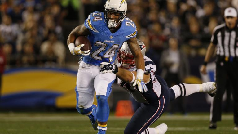 Patriots 24, Chargers 13