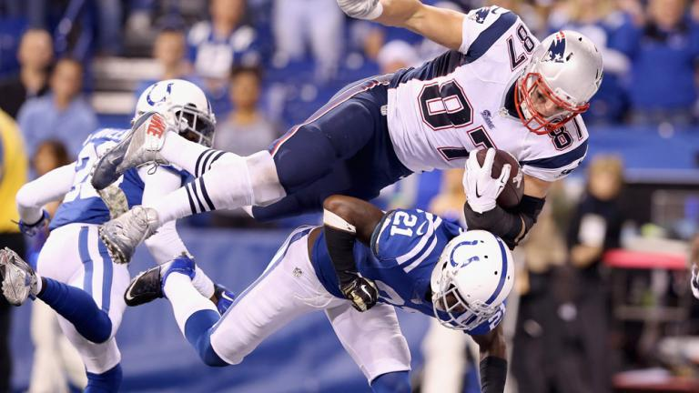Patriots 42, Colts 20