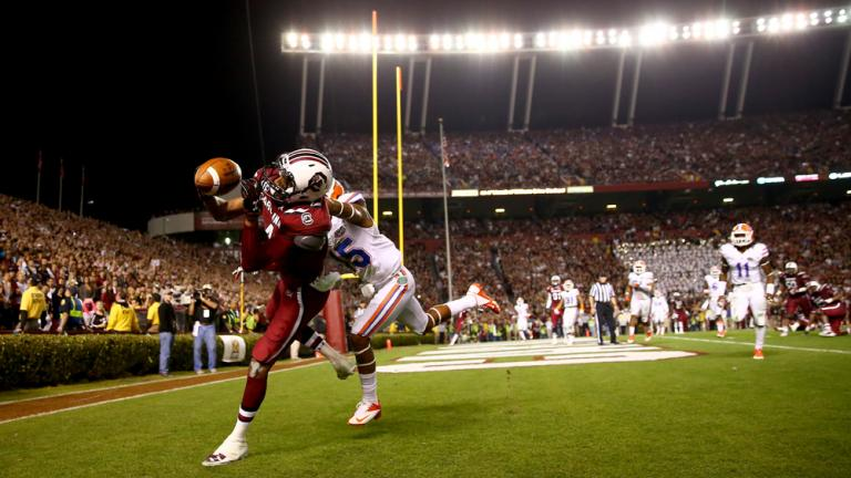 (11) South Carolina 19, Florida 14