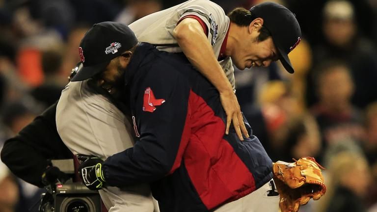 ALCS Game 5: Red Sox 4, Tigers 3
