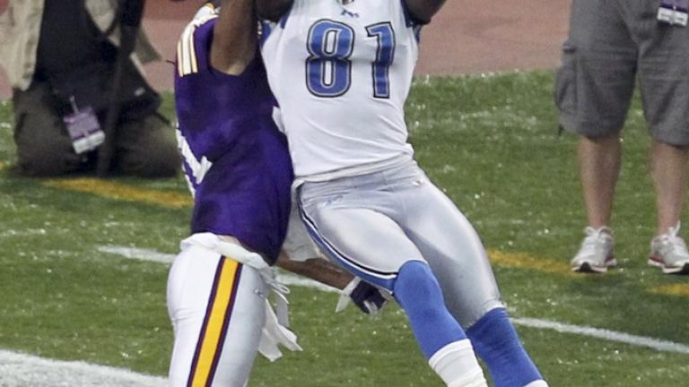 <b>Receiver</b>: Calvin Johnson, Lions