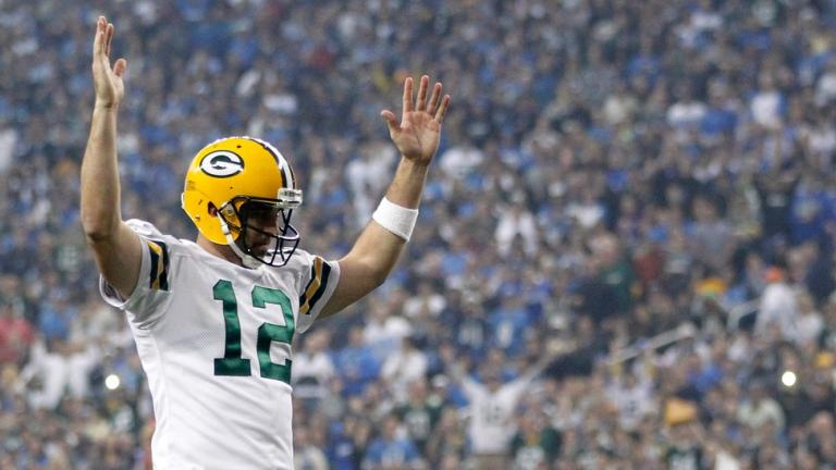 <b>MVP: </b>Aaron Rodgers, Packers