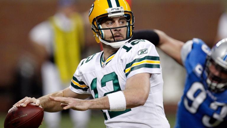 <b>Quarterback:</b> Aaron Rodgers, Packers