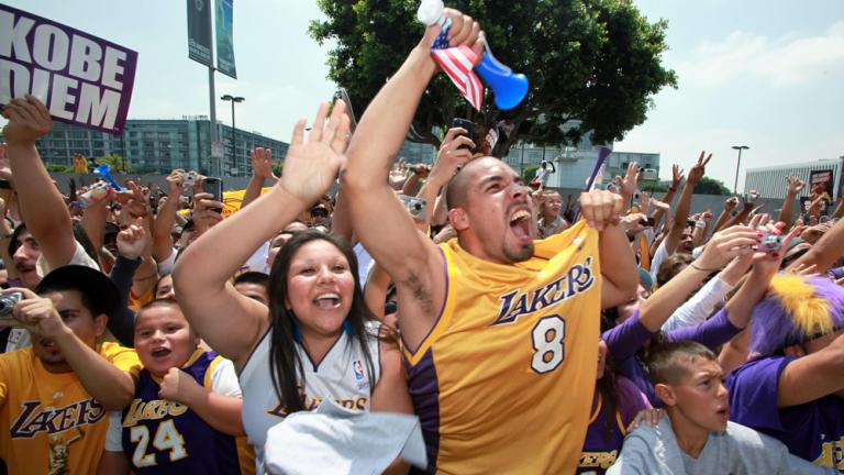 Excitement in Los Angeles