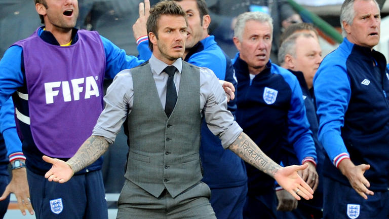 Beckham gets bent