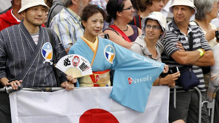 Fans of the Rising Sun