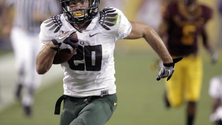 No. 5 Oregon 42, Arizona State 31