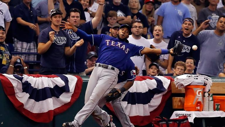 ALDS Game 3: Rangers 4, Rays 3