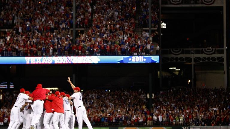 ALCS Game 6: Rangers 15, Tigers 5