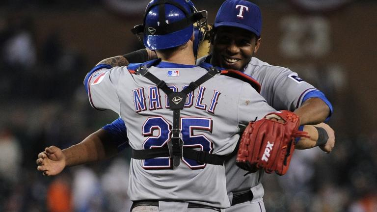 ALCS Game 4: Rangers 7, Tigers 3