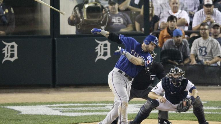 ALCS Game 3: Tigers 5, Rangers 2