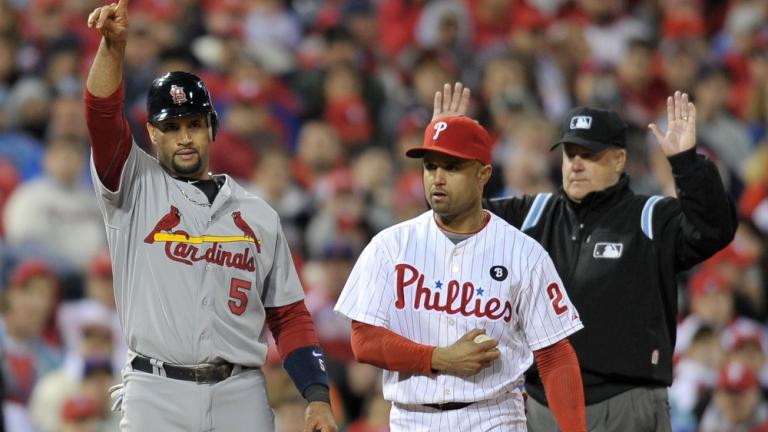 NLDS Game 2: Cardinals 5, Phillies 4