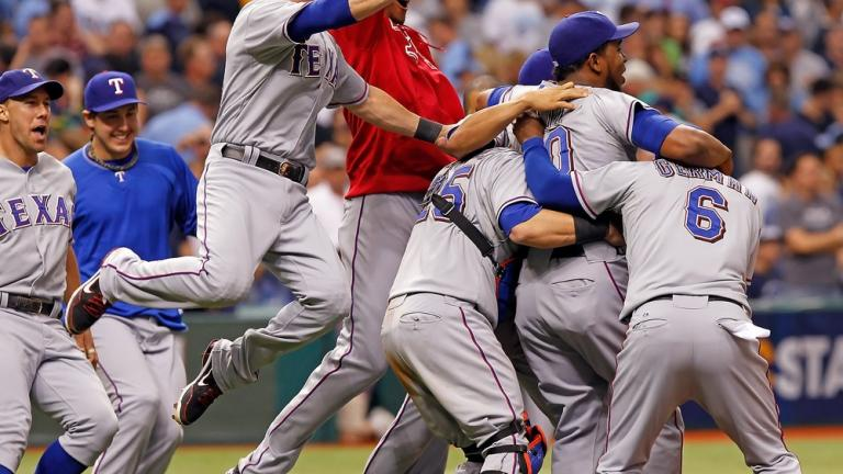 ALDS Game 4: Rangers 4, Rays 3