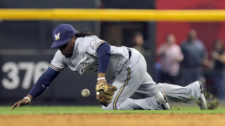NLDS Game 3: D-backs 8, Brewers 1