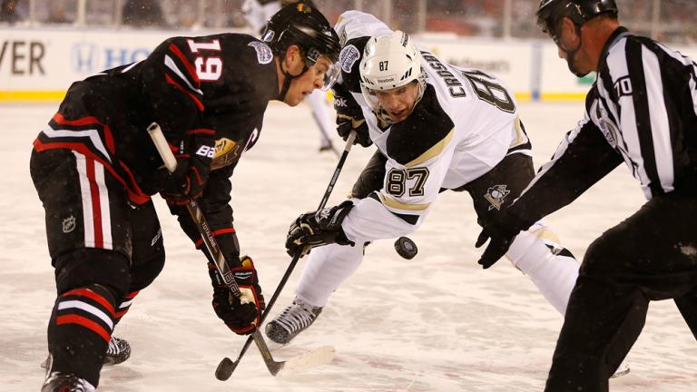 Chicago Blackhawks 5, Pittsburgh Penguins 1