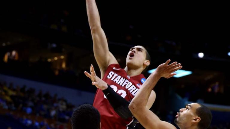 Third Round: (10) Stanford 60, (2) Kansas 57