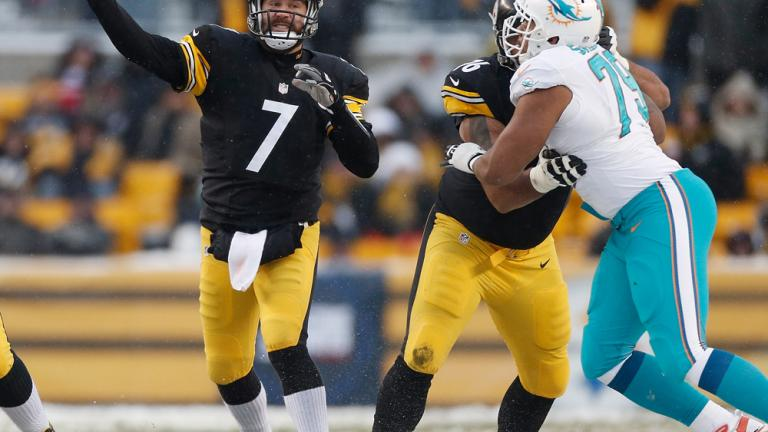 Dolphins 34, Steelers 28