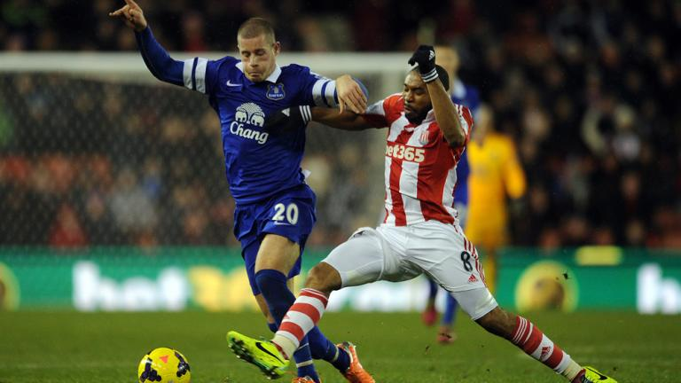 Stoke City 1, Everton 1