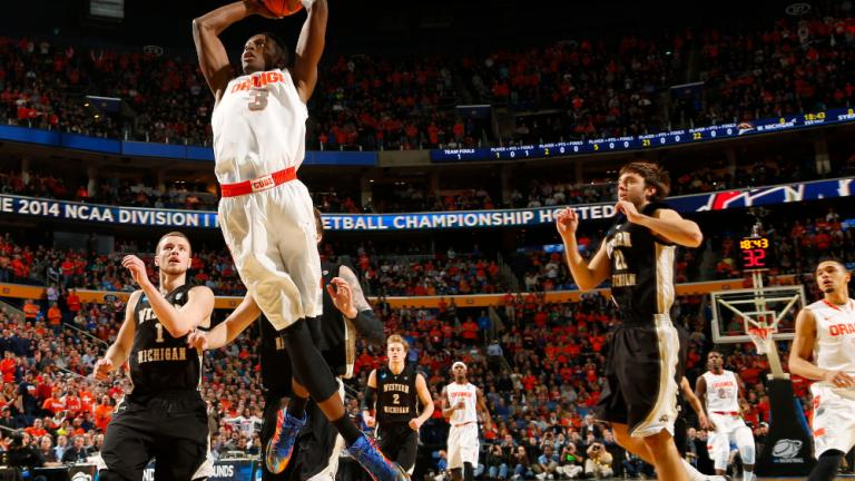 Second Round: (3) Syracuse 77, (14) W. Michigan 53