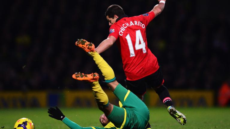 Manchester United 1, Norwich 0