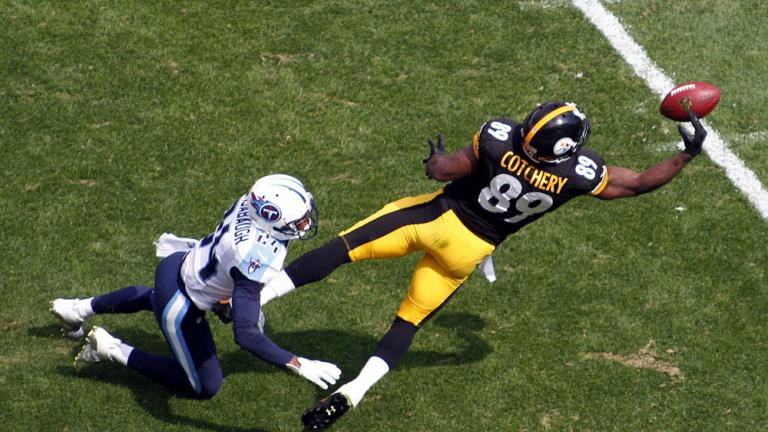 Titans 16, Steelers 9