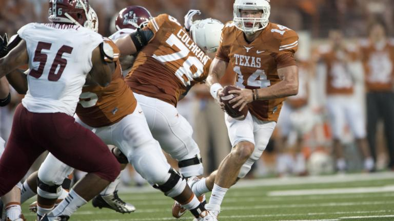 (15) Texas 56, New Mexico St. 7