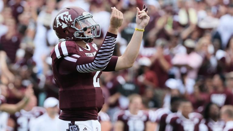 (7) Texas A&M 52, Rice 31