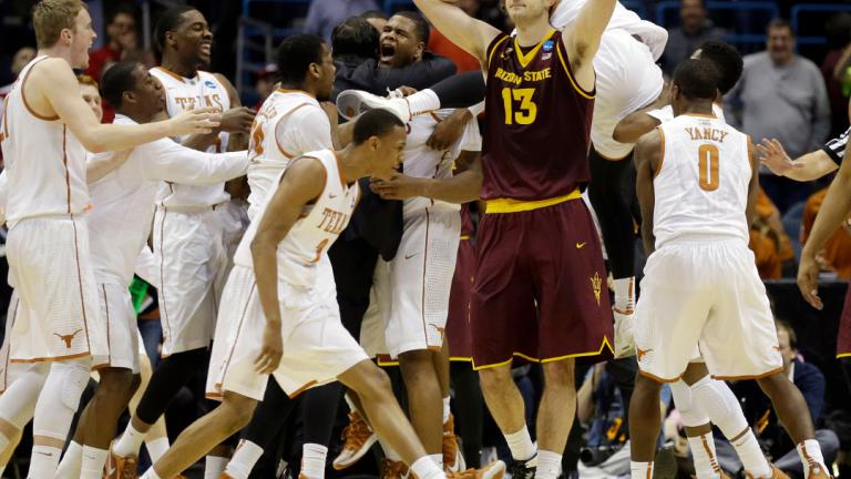 Second Round: (7) Texas 87, (10) Arizona State 85