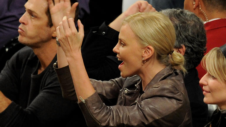 Clappin' with Charlize