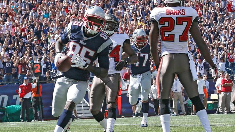 New England 23, Tampa Bay 3