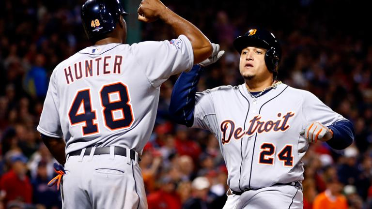 ALCS Game 6: Red Sox 5, Tigers 2