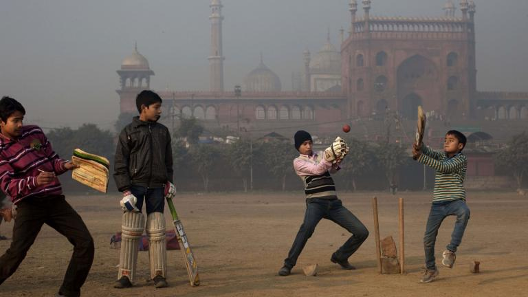 Cricket in the cold