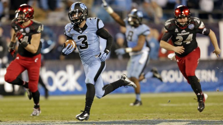 Belk Bowl: North Carolina 39, Cincinatti 17