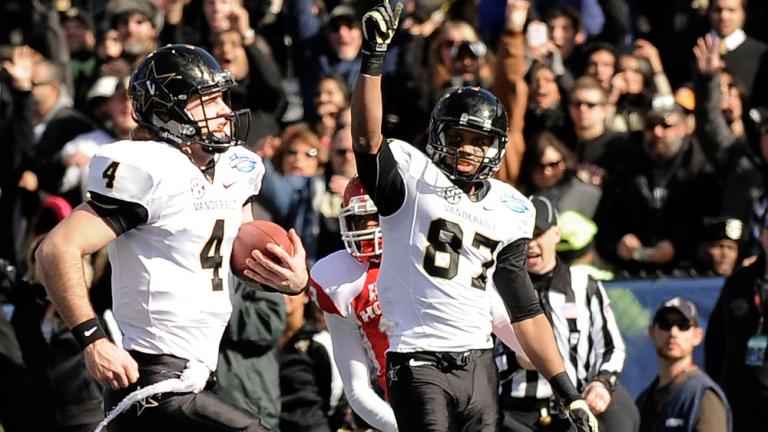BBVA Compass Bowl: Vanderbilt 41, Houston 24