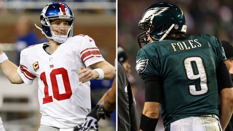 Week 6, Sun., Oct. 12: Giants at Eagles