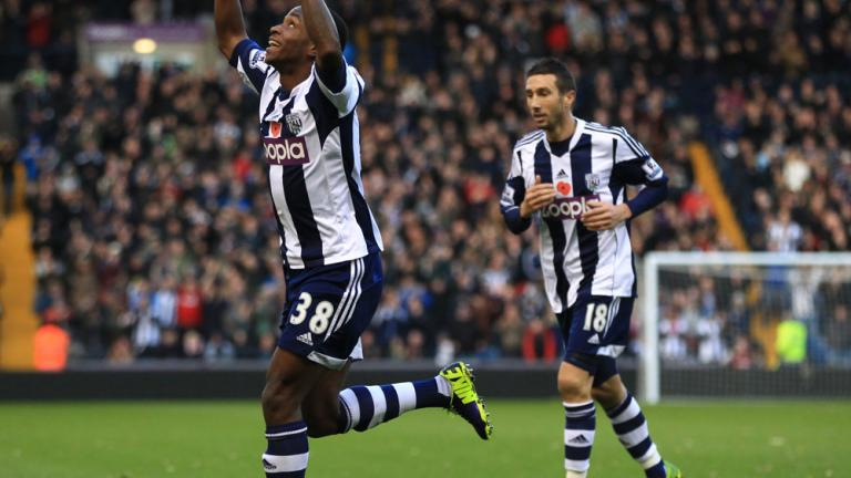 West Bromwich 2, Crystal Palace 0