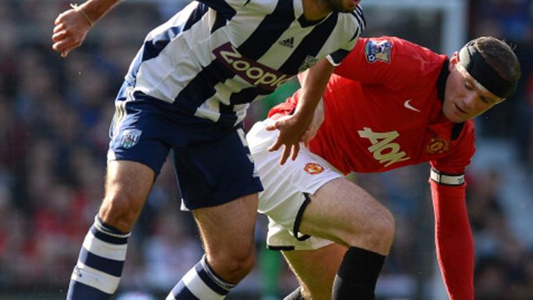 Manchester United 1, West Bromwich Albion 2