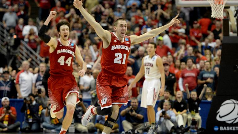 Elite Eight: (2) Wisconsin 64, (1) Arizona 63