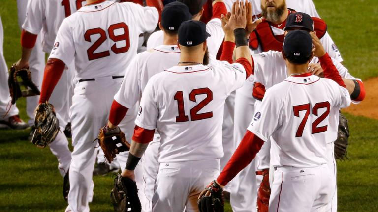 World Series Game 1: Red Sox 8, Cardinals 1