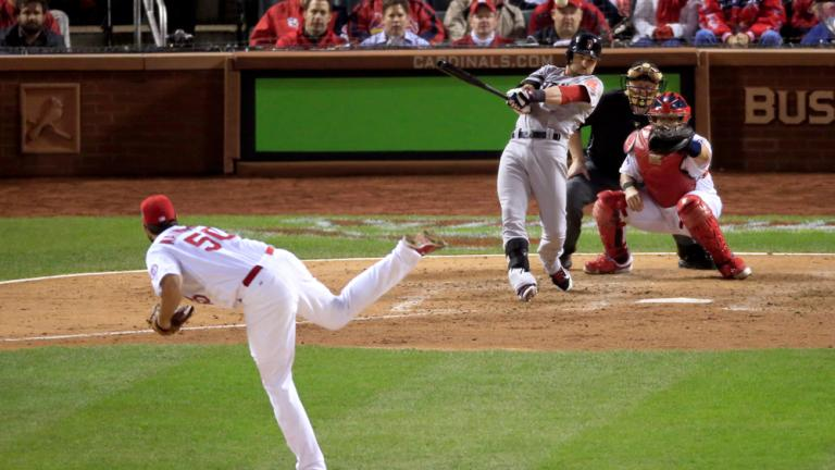 World Series Game 5: Red Sox 3, Cardinals 1