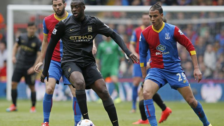 Manchester City 2, Crystal Palace 0