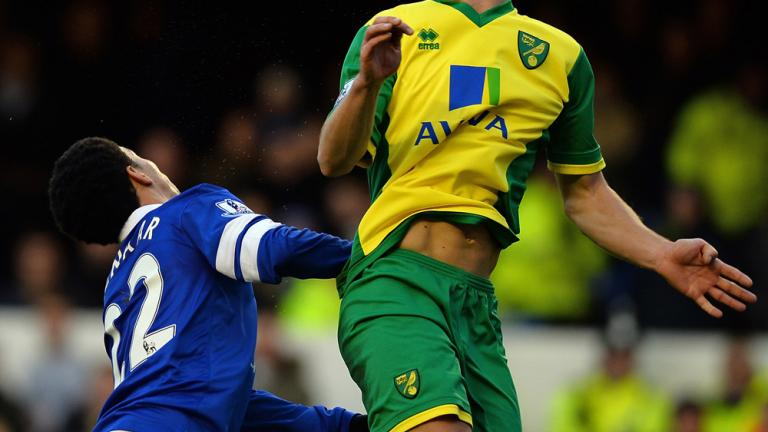 Everton 2, Norwich City 0