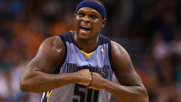Zach Randolph, Forward, Memphis Grizzlies