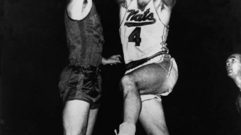 Dolph Schayes: 1 time