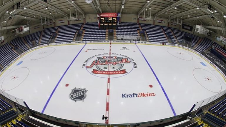 Extreme makeover: Hockey arena edition