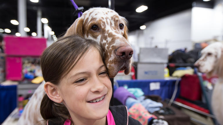 Behind the scenes at the 2017 National Dog Show