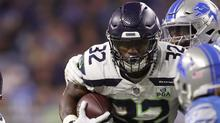 Chris Carson Week 12 Fantasy Preview Nbc Sports