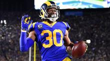 in stock 0dff1 807c2 Los Angeles Rams will wear throwback jerseys in Super Bowl ...